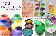Homemade Paint Recipes – Home İdeas Bubble Painting, Painting For Kids, Diy Painting, Diy For Kids, Crafts For Kids, Diy Crafts, Recycle Crafts, Diy Projects To Try, Craft Projects