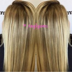 Full head highlights hair pinterest full head highlights taylor transformed her guest from a full head of highlights into a darker more natural pmusecretfo Choice Image