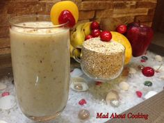 Healthy Breakfast - Daliya Smoothie