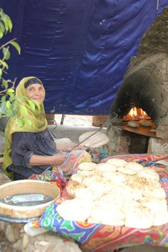 .Balady Bread bakery in the countryside