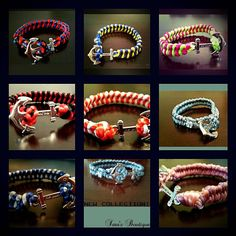 Handmade bracelet You can customize it yourself by choosing your own colors and design they are for sale contact me on my email if interested: sarabudeir@yahoo.com