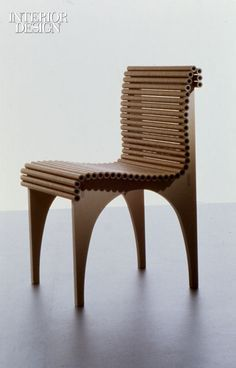 Paper tube chair Shigeru Ban -
