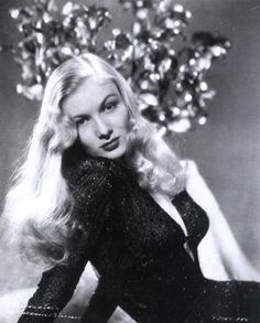 VERONICA LAKE.....could be the all time saddest outcome of any old hollywood glamour girl.....30 years after this pic she was pennyless and working as a bartender in NYC