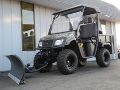 When you need more capability than you can get from a golf cart, but can't quite swallow the overpriced oversized utility vehicle options from some manufacturers, then our American-made UTVs from American SportWorks are the perfect solution.  Independent rear suspension plus standard four wheel drive make the Landmaster LM700 the top dog of utility vehicles!  This capable UTV is an excellent choice for anyone that needs a heavy-duty utility vehicle that won't break the bank.