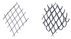 Dragon Scale Construction Lines and Sketching Type 2