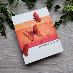Hero Arts Cards, Spellbinders Cards, Ppr, Handmade Tags, Butterfly Cards, Pretty Cards, Card Sketches, Card Kit, Sympathy Cards