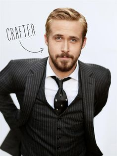 Ryan Gosling really is a knitter! #meme