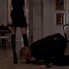 Natalia always did get a kick out of bringing men to their knees