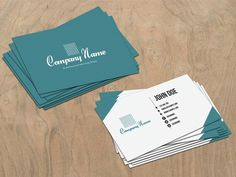 Corporate Business Card Free #PSD