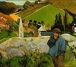 Paul Gauguin – Maker of Myth Series. Eugene Henri Paul Gauguin (June 7, 1848 – May 8, 1903) was a leading French Post-Impressionist artist. He was an important figure in the Symbolist movement as a painter, sculptor, print-maker, ceramist, and writer.