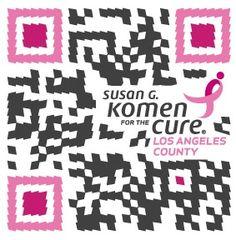 #QR Codes #creative #breastcancerawareness