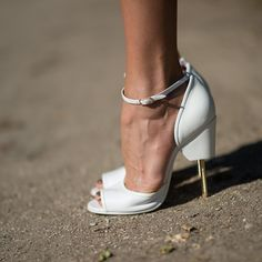 """The Street Style Accessories That Stopped Traffic at Fashion Week ---  Define """"heel."""""""