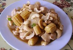 Cashew Chicken with Water Chestnuts | Cashews, water chestnuts, and ...