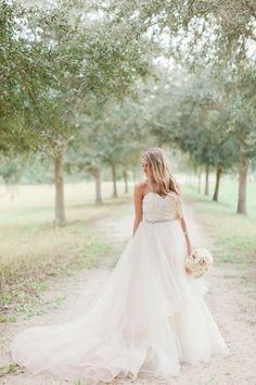 lazaro ballgown, mastin labs, orchid, bridal portrait Justin & Nicole, Married — Vine and Light | Central Florida | Wedding and Portrait Photography