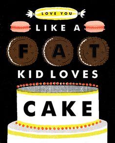 mmm... cake.