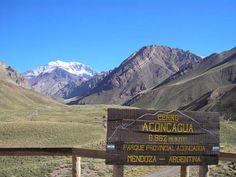 El Aconcagua es una montaña ubicada en la provincia de Mendoza, en el oeste de Argentina. Integra la cordillera Frontal, un sistema geográfico paralelo a la cordillera Principal, la cual es un componente de la cordillera de los Andes. Con una altitud de 6960,8 msnm es el pico más elevado de los hemisferios sur y occidental, el más alto de la Tierra después del asiático sistema de los Himalayas y la cumbre más alta de América.