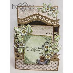 Heartfelt Creations - Ruff Time Foldout Card Project