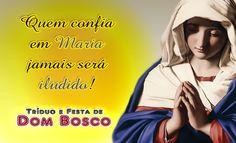 Reze e Medite com o tema do primeiro dia do Tríduo de Dom Bosco, Pai e Mestre da Juventude