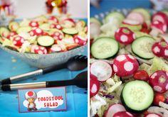 Toadstool salad!!!