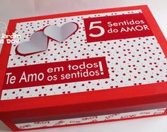 Caixa 5 Sentidos do Amor