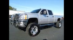 2011 Chevy Silverado 2500HD Diesel Lifted Truck For Sale