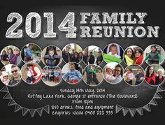 25+ Family Reunion Invitation Templates - Free PSD Invitations Download