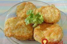 Vysmážaný syr z hrnčeka – bez smaženia: Rýchle a lacné jedlo pre celú rodinu – žiadne obaľovanie a prskanie oleja, toto je perfektný nápad! Baked Potato, Cauliflower, Delish, Dessert Recipes, Food And Drink, Potatoes, Chicken, Baking, Vegetables
