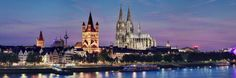 You only have one day to discover the Cathedral City on the Rhine and to immerse yourself in Cologne's zest for life? We have some suggestions that will allow you to discover the most important and interesting sides of the city. St Martin, Paradise On Earth, Tourist Information, City Maps, Old City, Cheap Travel, Dom, Old Town, Day Trips