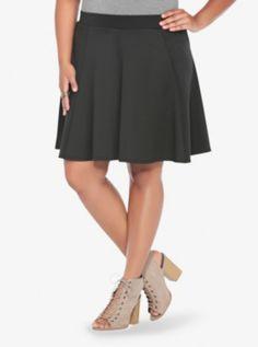 282684a33a4 Scuba Skater Skirt Women s Plus Size Shorts
