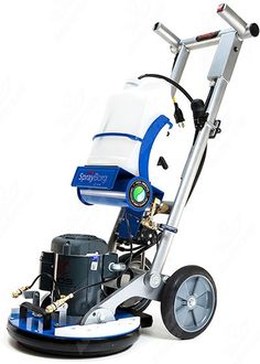 HOS Orbot SprayBorg Orbital Cleaning System. Multifunction hard floor/ carpet cleaner.
