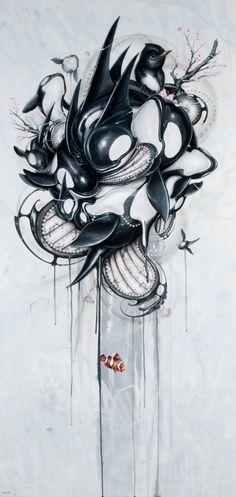 "Guardians 2011 by Greg ""Craola"" Simkins"