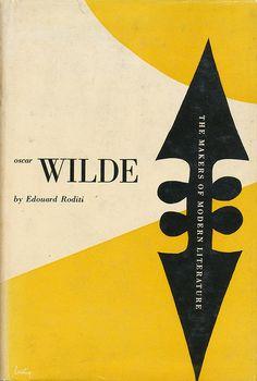 Oscar Wilde book jacket design by Alvin Lustig