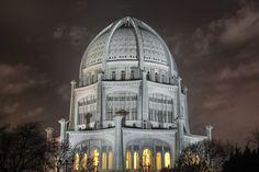 The Baha'i House of Worship (Wilmette) - Chicago 2010 by Joe Lekas