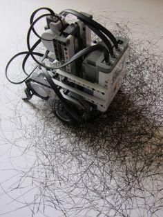 Debbie Locke drawing machine