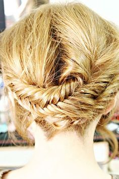 Try some of these easy braided hairstyles