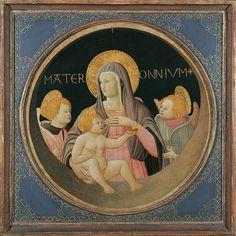 [Renaissance] Apollonio di Giovanni, MATER OMNIUM., Auktion 909 Alte Kunst, Lot 1107A
