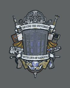 Time Lords Crest T-Shirt | $10 Doctor Who tee at ShirtPunch today only!