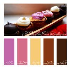 Cupcake Neopolitan color palette www.HomesOfLKN.com @The Lake Norman Group