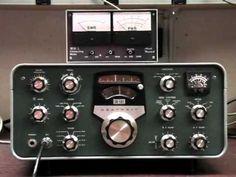 The Heathkit SB-310 Shortwave Receiver - YouTube