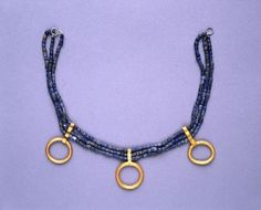 The Royal Tombs of Ur. Necklace.