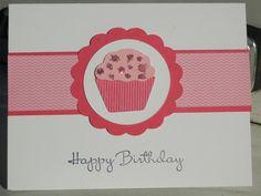 Cupcake punch card