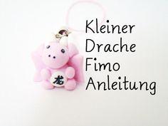 Kleiner Drache Fimo Anleitung