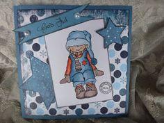 Kari Anne's hobby Marianne Design, Aktiv, Magnolia, Christmas Cards, Lunch Box, La La Land, Pictures, Christmas E Cards, Magnolias