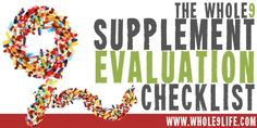 resources on supplements