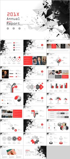 Utility powerpoint template apresentao 27 best creative annual charts powerpoint template on behance powerpoint templates presentation toneelgroepblik Choice Image