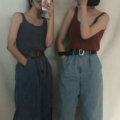 Outfit Ideen / Style Inspiration von M N O N - Musely Look Fashion, 90s Fashion, Street Fashion, Korean Fashion, Fashion Outfits, Feminine Fashion, Fashion Clothes, Mode Outfits, Trendy Outfits