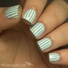 Stripes! #OfficialNailasaurus