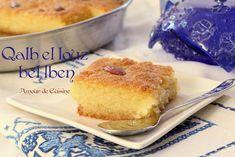 kalb el louz au lben babeurre recette inratable - Amour de cuisine Cooking Time, Cooking Recipes, Edible Oil, Cornbread, Doughnut, Sweet Recipes, Oven, Pasta, Sweets