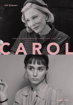 Cate Blanchett and Rooney Mara. Movie Poster Art, Film Posters, Cate Blanchett Carol, Patricia Highsmith, Todd Haynes, Film Stills, Film Movie, Filmmaking, Instagram