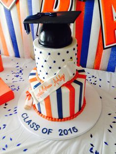 Sam Houston State University graduation cake!